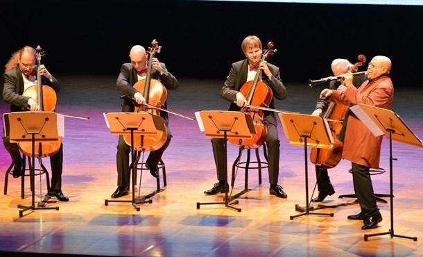 Giora Feidman & Rastelli Cello Quartett Rüzgarı!