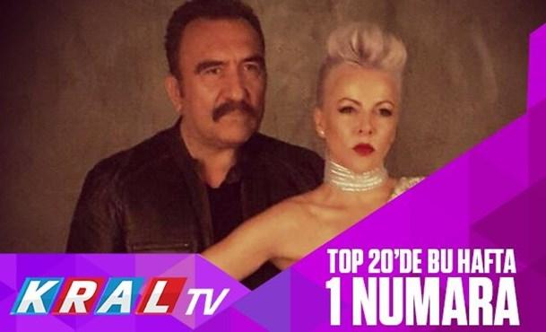 Ümit Besen ft Pamela Kral TV top 20 Listesi'nde