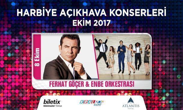 Ferhat Göçer ve Enbe Orkestrası'ndan Açıkhava'da Müzik Şöleni