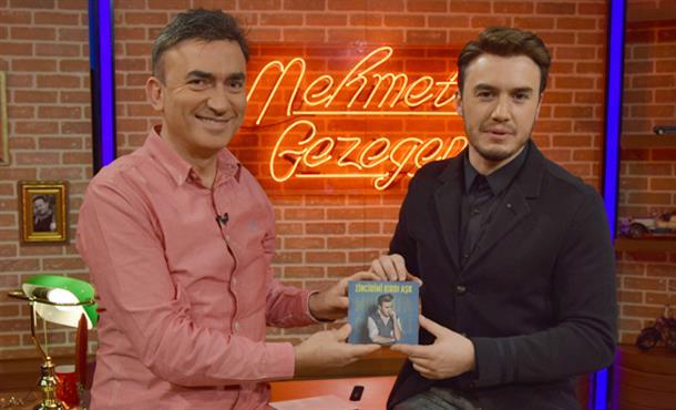 Gezegen Mehmet, Mustafa Ceceli'yi Ağırladı!