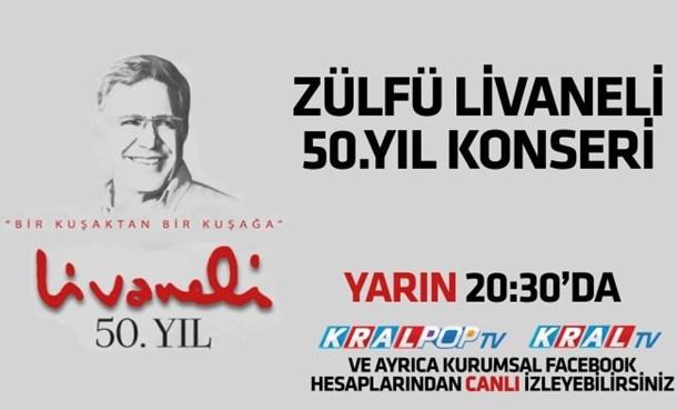 Zülfü Livaneli, 50. Sanat Yılını ÇABA Derneği Organizasyonuyla Kutluyor