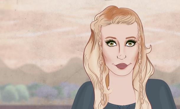 Gökçe'nin Yeni Klibi 'Aşık Olmak İstemiyorum' 2D Animasyon Tekniği Kullanılarak Hazırlandı!