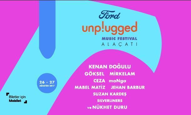 """""""FORD Unplugged Music Festival Alaçatı """" Kenan Doğulu ile Taçlanıyor!"""