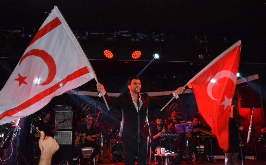Gökhan Tepe 29 Ekim'i Kıbrıs'ta Kutladı!