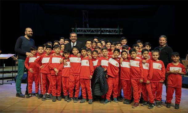 Yavuz Bingöl Konserine Nusaybinli Çocuklar Misafir Oldu!