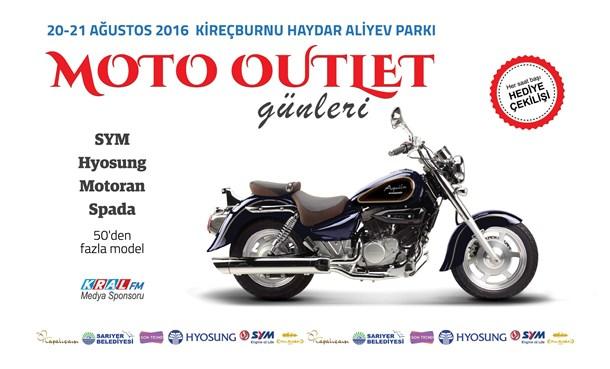 Moto Outlet  Günleri Başlıyor!