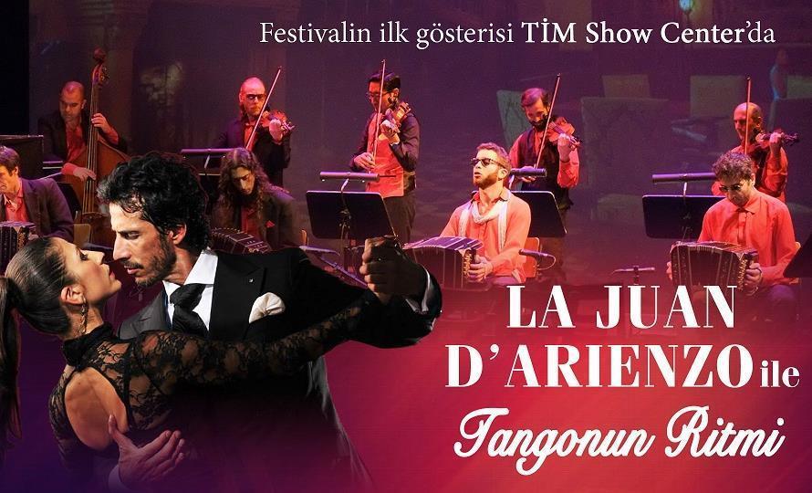 Dünyaca Ünlü Tango Festivalinin ilk Gösterisi TİM Show Center'da!