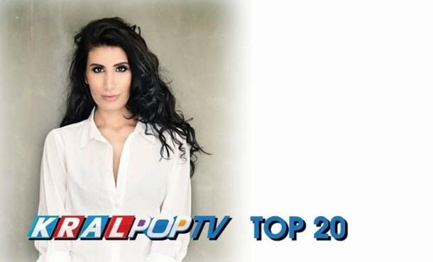 İrem Derici Kral POP TV Top 20 Listesinde 1 Numara!