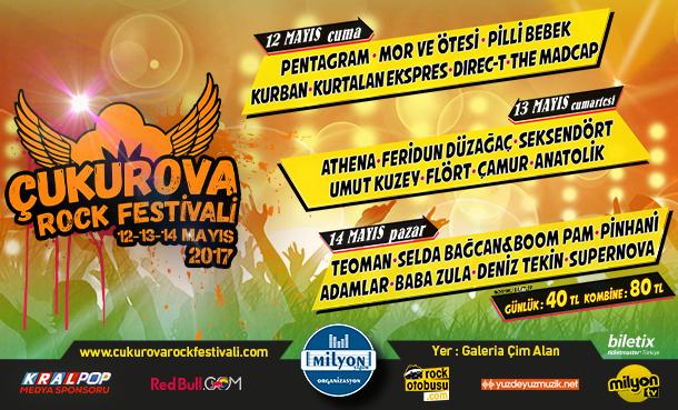 Çukurova Rock Festivali Başlıyor!