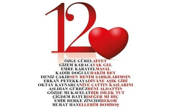 12 Kalp Bu Albüm için Bir Araya Geldi