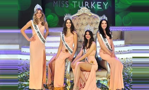 Miss Turkey 2015 Güzellik Yarışması!