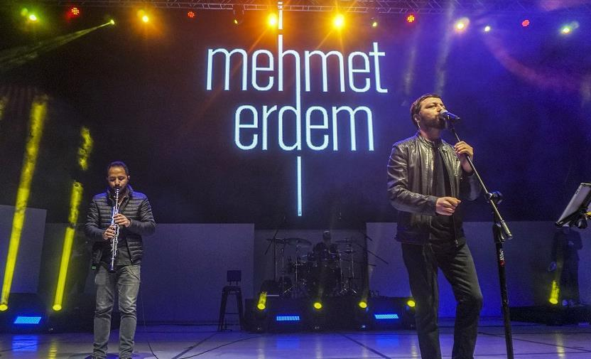 Mehmet Erdem İsfanbul'da Konser Verdi!