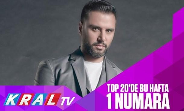 Alişan Kral TV top 20 Listesi'nde 1 Numara!