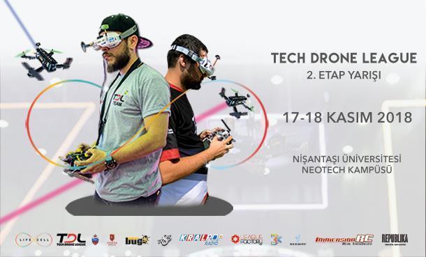 Tech Drone League 2.Etap Yarışları Başlıyor!