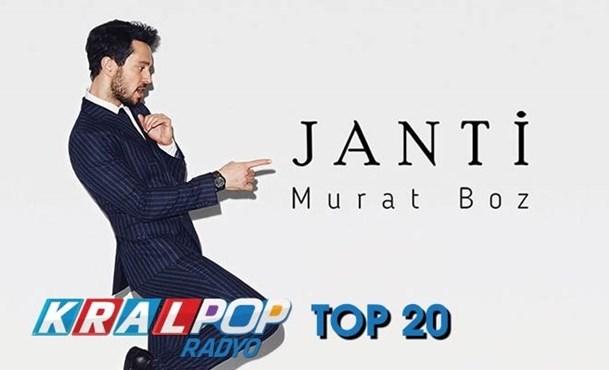Murat Boz, Kral POP Radyo Top 20 Listesi'nde 1 Numara!
