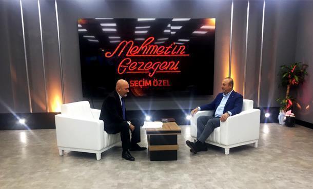 Dışişleri Bakanı Mevlüt Çavuşoğlu Mehmet'in Gezegeni Seçim Özel'e Konuk Oldu!