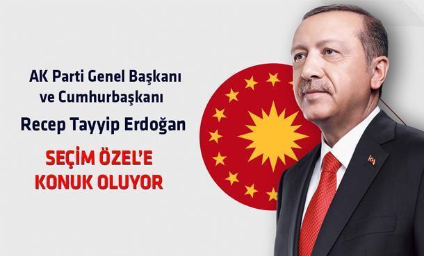Cumhurbaşkanı Recep Tayyip Erdoğan'ın Konuk Olacağı Seçim Özel Bugün 18:30'da Kral FM ve Kral Pop Radyo'da!