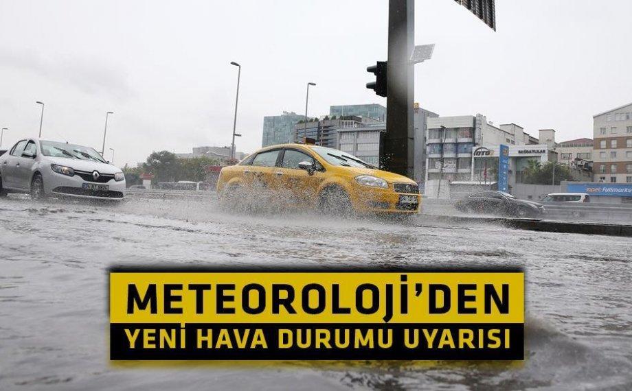 Meteoroloji'den İstanbul İçin Yeni Hava Durumu Uyarısı!