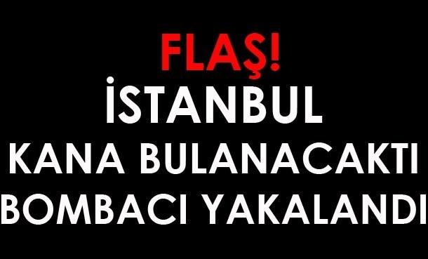 Flaş! İstanbul Faciadan Döndü. Bombacı Son Anda Yakanaldı!